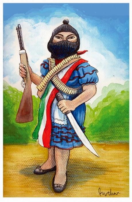 Caricatura EZLN
