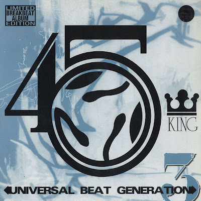45 King, The ‎– Universal Beat Generation 3 (1998, 192) LP