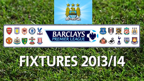 ลีก fixtures manchester city premier league season 2013 2014 de