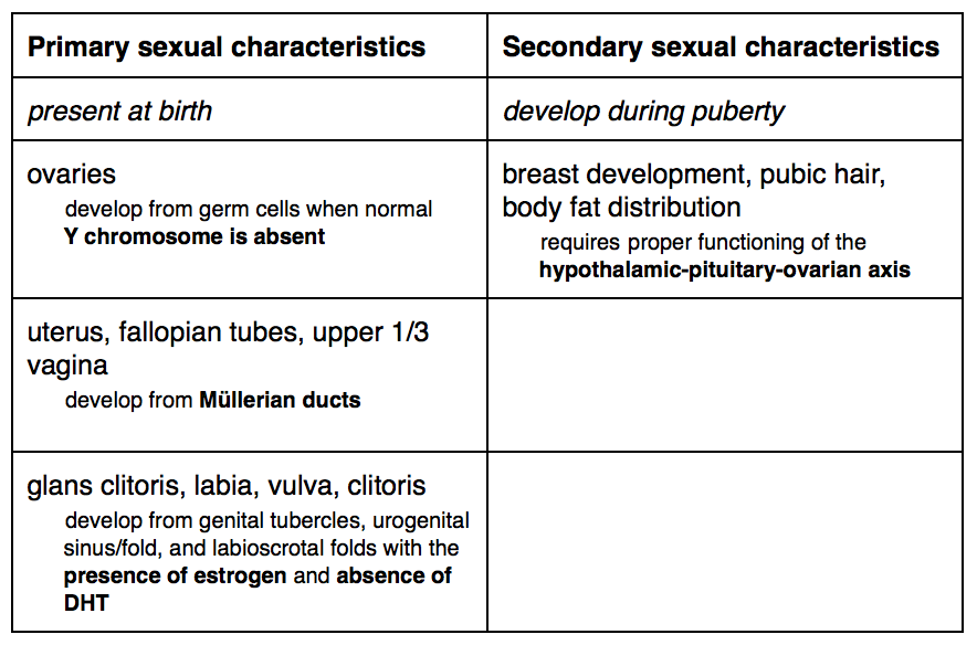 Male secondary sexual characteristics