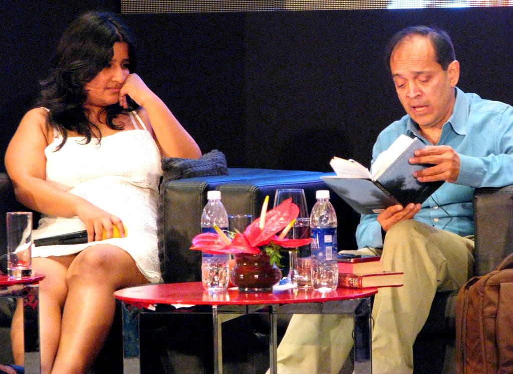Nisha Susan and Vikram Seth