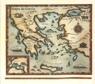 mapa griego