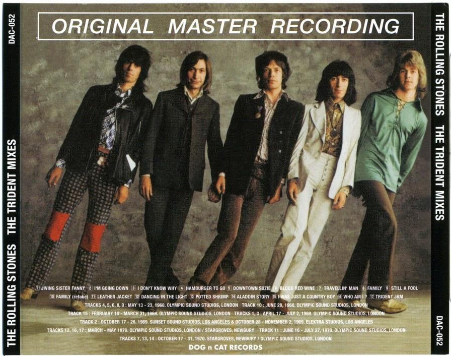 T U B E The Rolling Stones 1968 1972 Trident Mixes