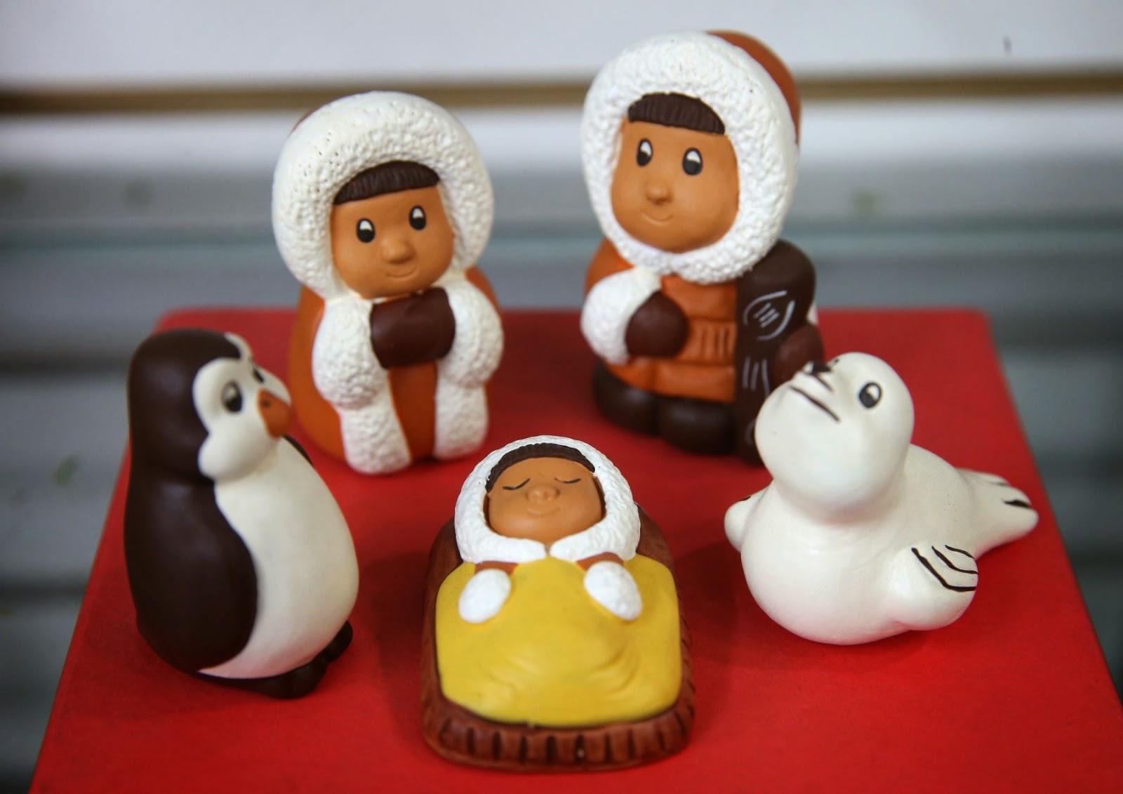 Nacimientos inspirados en las diversas culturas regionales for Artesanias navidenas