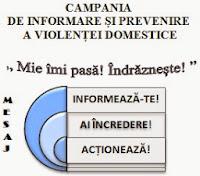Campania de informare și prevenire a violenței domestice