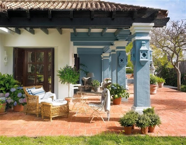 Comedores exteriores - Decoracion exteriores terrazas ...