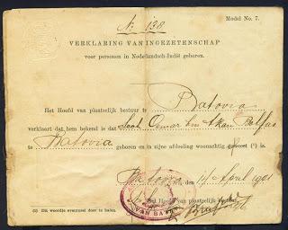 Pernah Lihat KTP Zaman Belanda?
