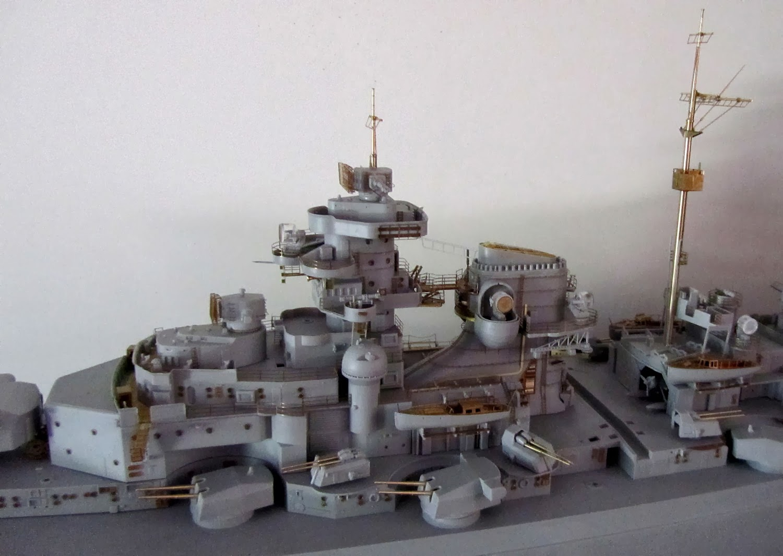 how to build the bismarck