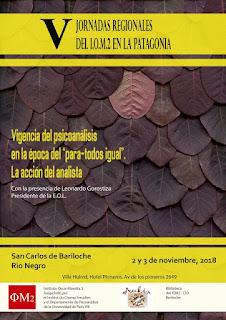 V Jornadas Regionales del IOM2 en la Patagonia