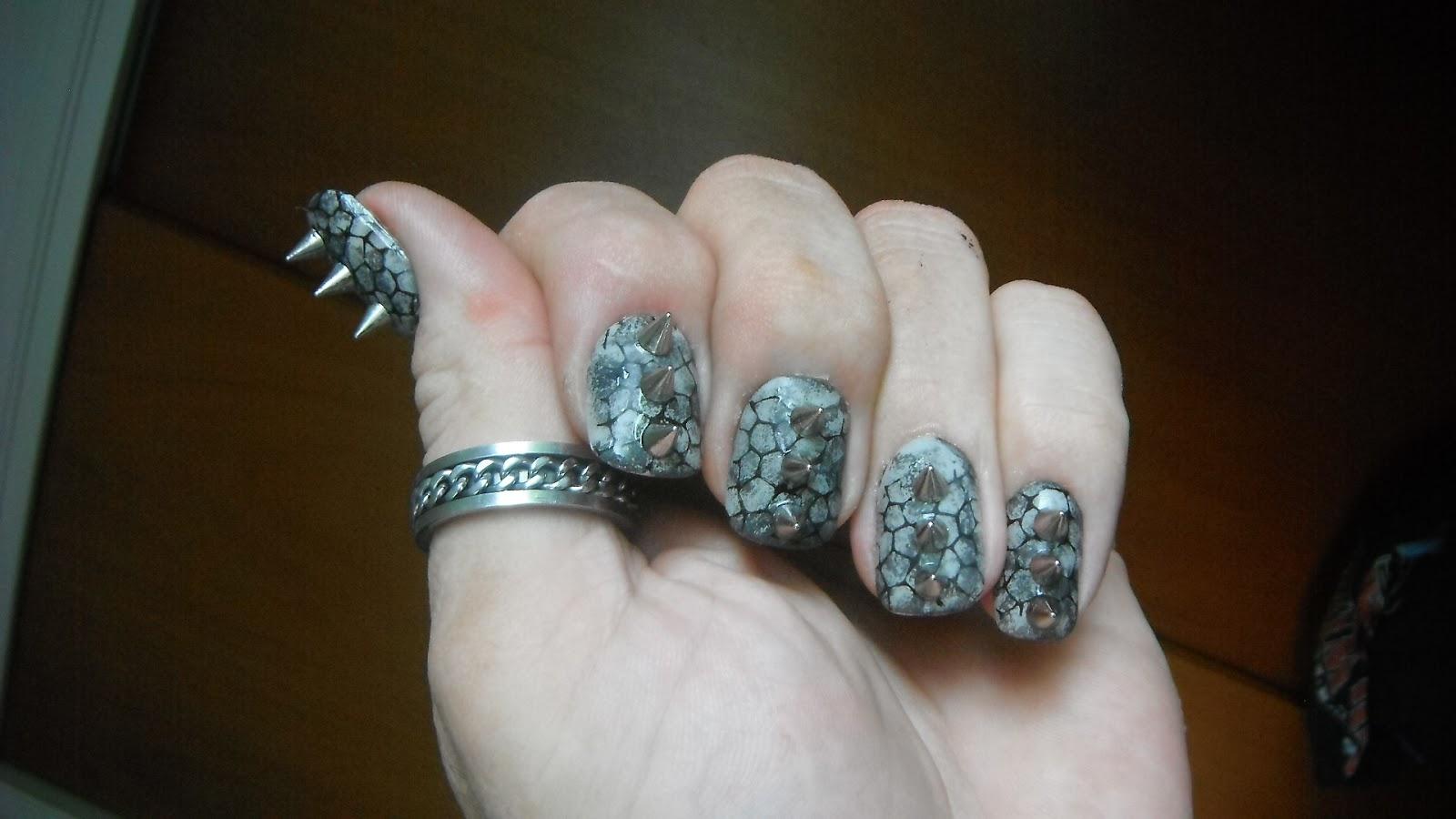 Men and nail polish: Bad Ass Nails!