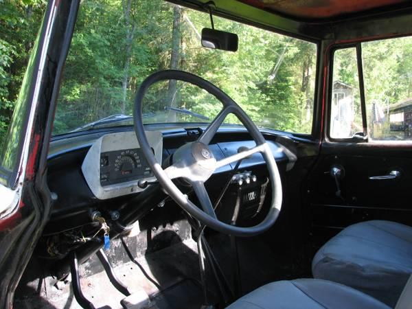 International Harvester Interior : International harvester b pickup truck cars
