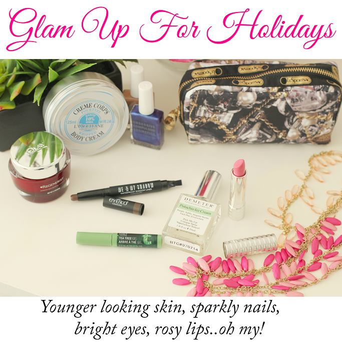 Glam beauty board