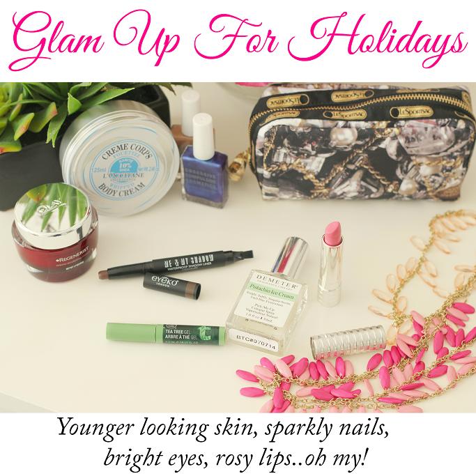 Glam beauty board