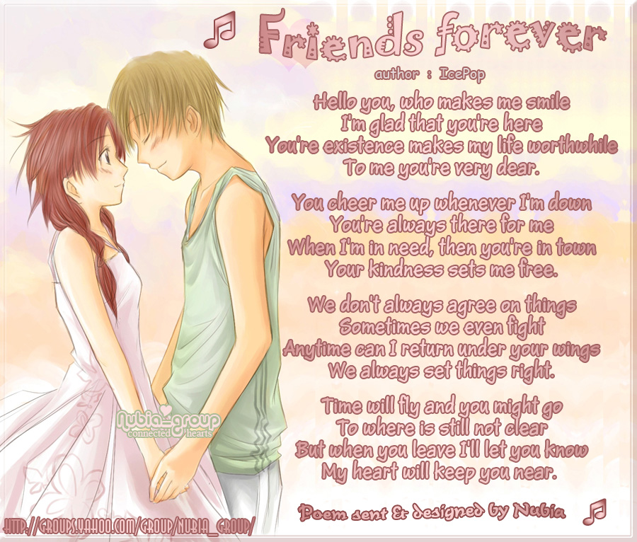 best friends forever poems and quotes. Best-Friends-Forever-Poems