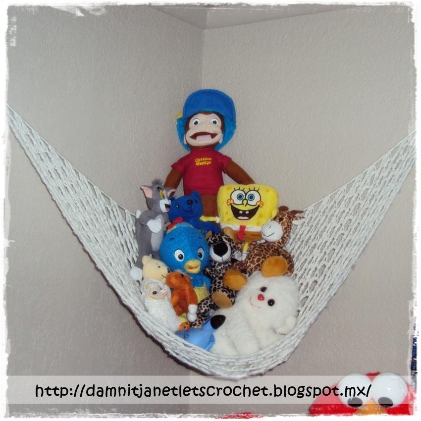 crochet toy storage hammock damn it ja  let u0027s crochet   crochet toy storage hammock  rh   damnitja letscrochet blogspot