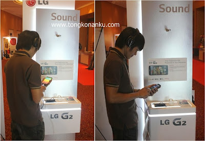 Tes kualitas Audio LG G2