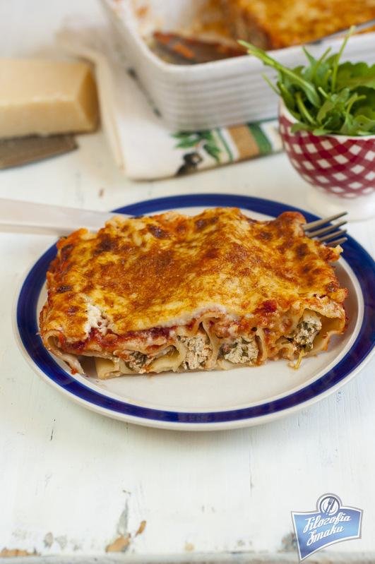 Cannelloni faszerowane serem