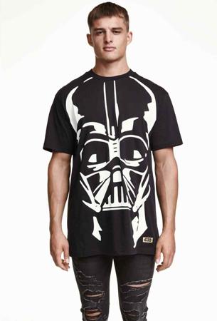camiseta Star Wars de H&M para hombre