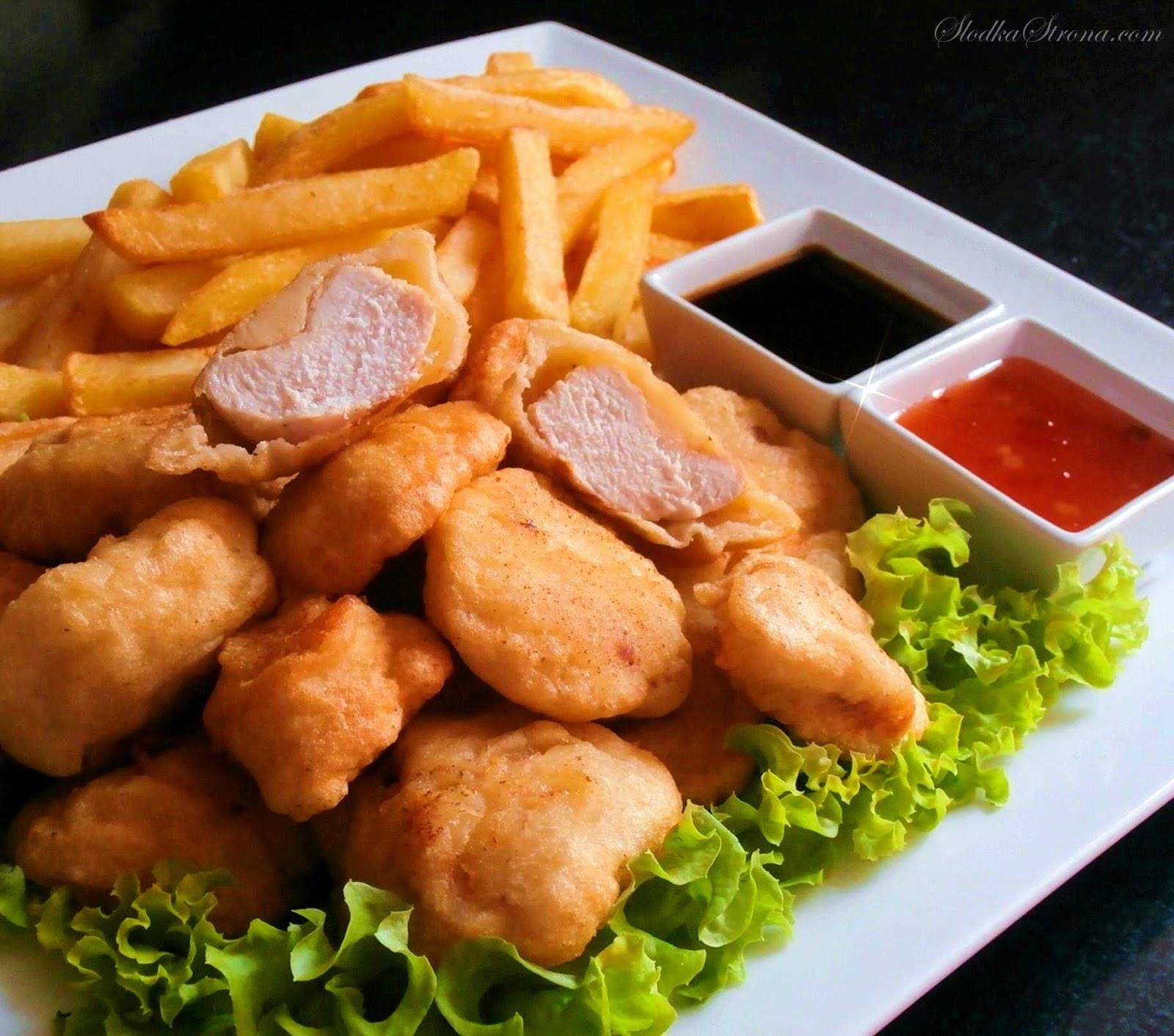 kurczak w ciescie przepis