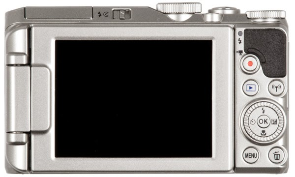 Nikon Coolpix S9900 rear lcd