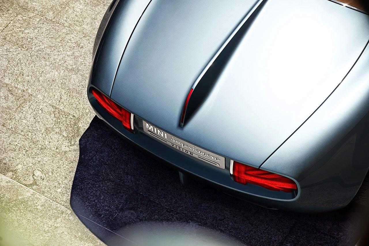 Mini Superleggera Vision rear detail