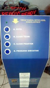 Printer untuk mesin antrian samsat