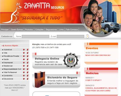 ZANATTA SEGUROS | WWW.ZANATTASEGUROS.COM.BR