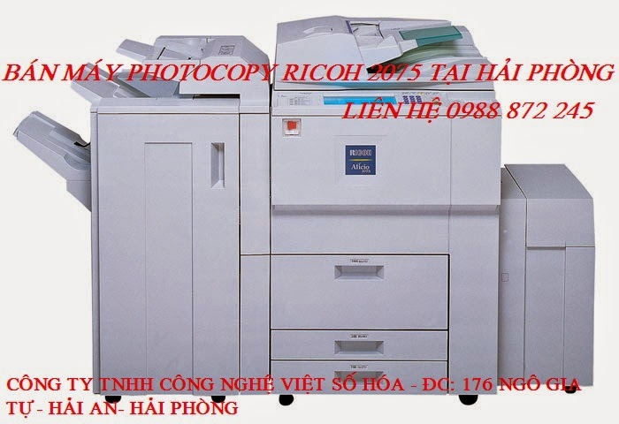may photocopy ricoh 2075 gia re hai phong