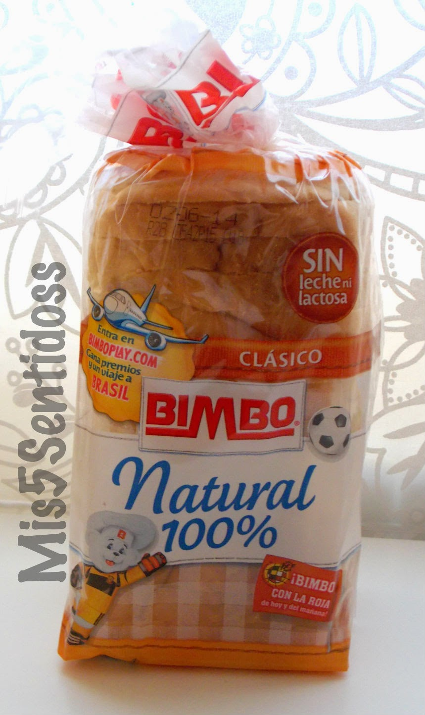 Degustabox mayo 2014 Bimbo Natural 100%