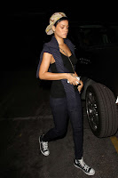 Rihanna  candids in West Hollywood