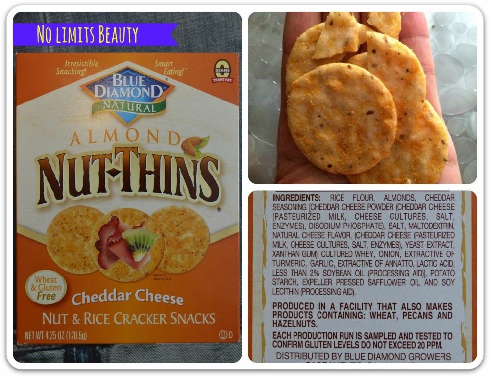 iHerb - Blue Diamond - Cheddar Cheese Almond Nut-Thins