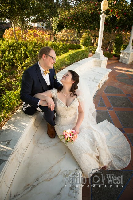 Hearst Castle -  San Simeon Wedding Photographer - San Simeon Wedding - studio 101 west