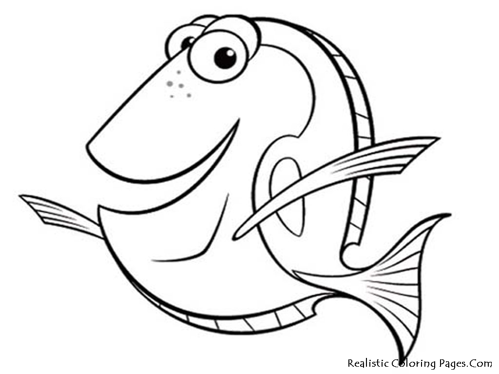 Realistic Fish Coloring Pages Realistic Coloring Pages Fish Coloring Page