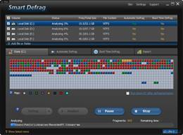 Optimized sd view Smart Defrag 2.7.0.1165