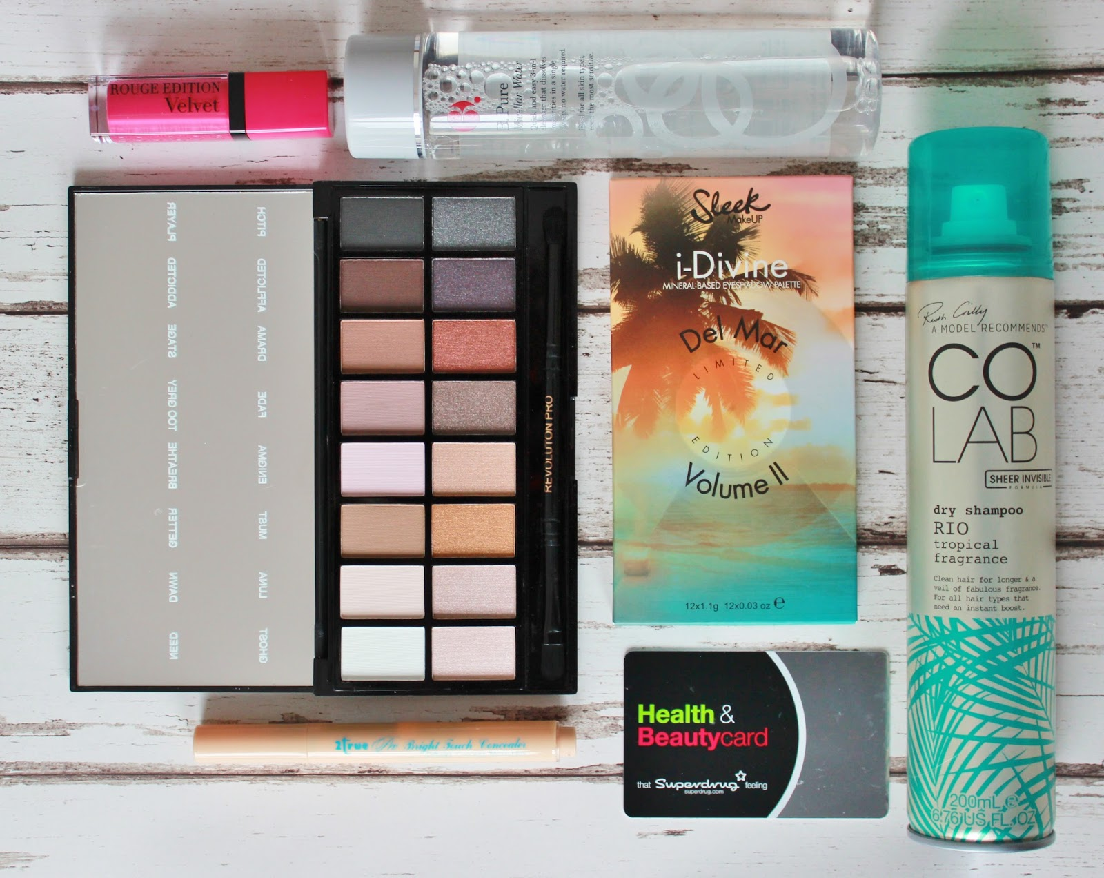 Superdrug Haul and health and beauty loyalty card