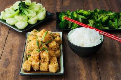 Thực đơn giảm béo từ các món chay