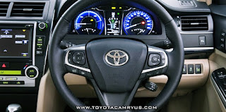 2016 Toyota Camry Atara S Review Interior