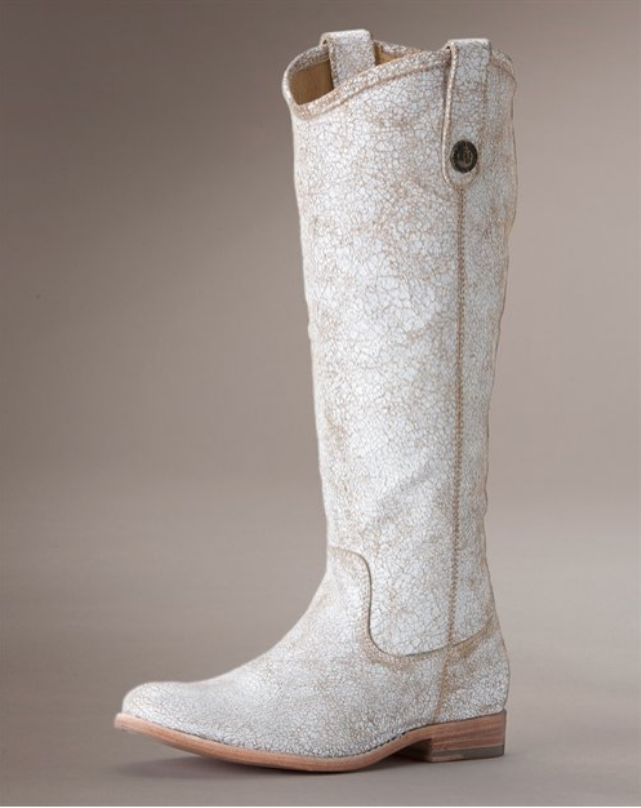 THE APPRECIATION OF BOOTED NEWS WOMEN BLOG : white leather boots