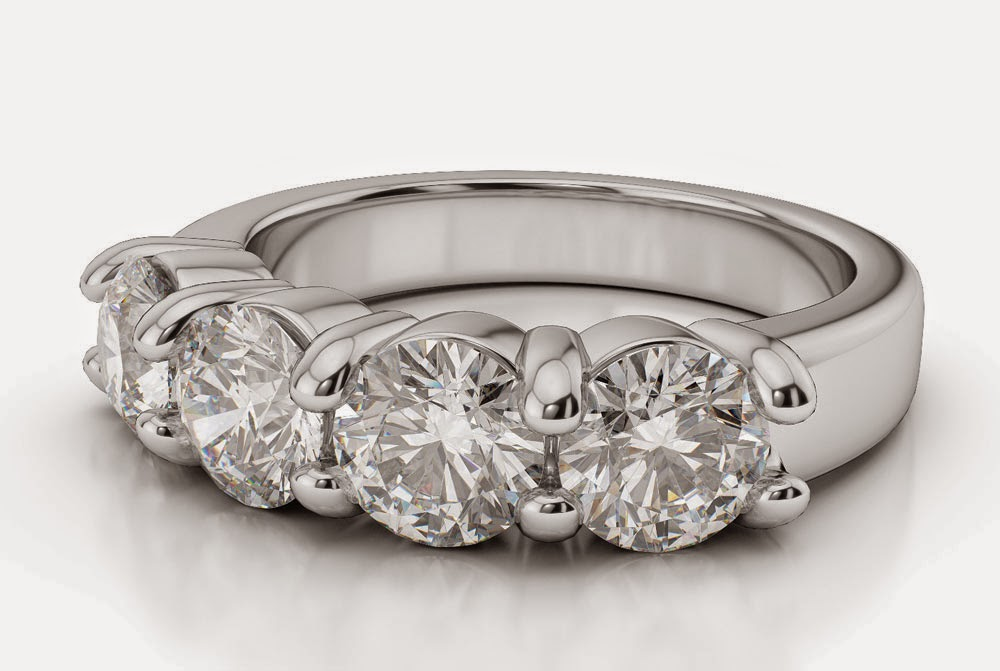 Round Cut Diamond Wedding Rings Settings pictures hd
