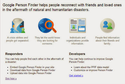Google Person Finder: Super Typhoon Yolanda posted on GoodFilipino.com