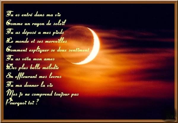 Sosofia94 tu es entr dans ma vie comme un rayon de for Tu est le miroir de ma vie
