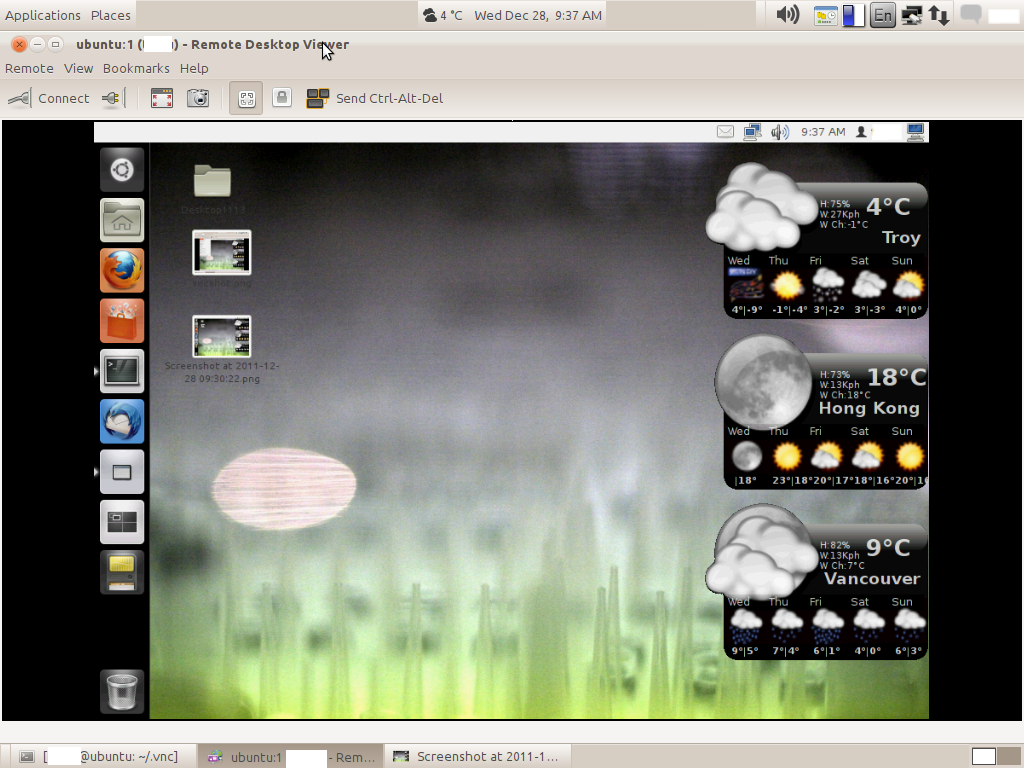 vnc viewer session with gnome session manager on ubuntu 1110 5 ubuntu alternatives value checking out 1024x768