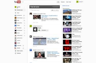 Interfaz nueva de Youtube