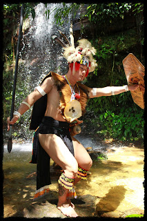 Dancer at Sarawak's World Music Festival