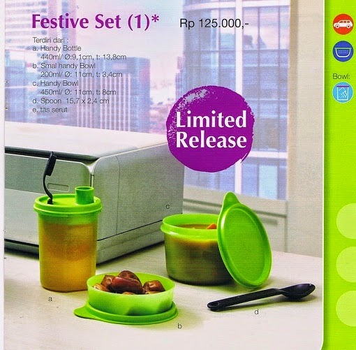 Festive Set Tupperware
