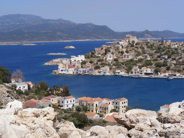 The Beautiful Greek Island of Meis or Kastellorizo