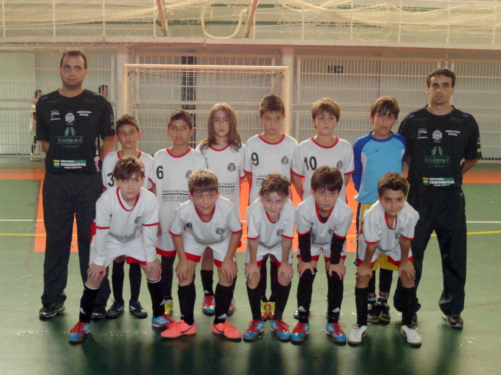 155d773eff A equipe de futsal masculino sub-11 da secretaria municipal de Esportes e  Lazer de Pouso Alegre conquistou uma vaga para a grande final da Liga  Desportiva ...