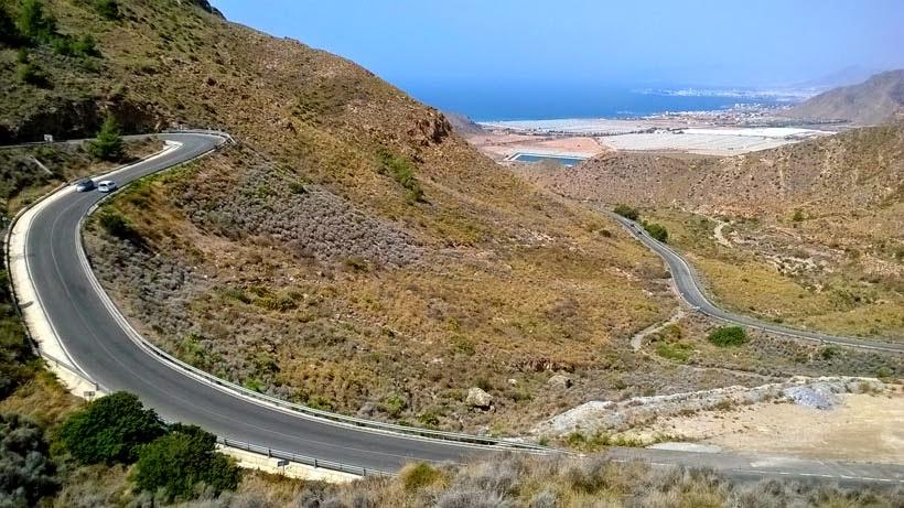 Carretera con vistas