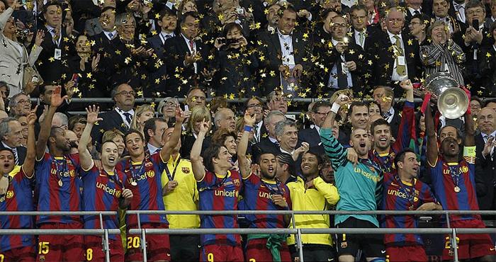 FC Barcelona campeón de la Champions 2011