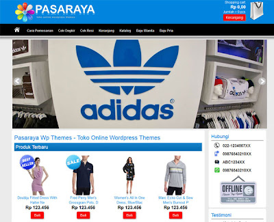 Pasaraya Wordpress Theme